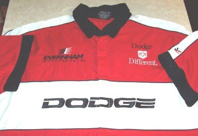 DODGE EVERNHAM MOTORSPORTS CREW SHIRT