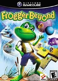 Xbox Frogger Beyond Game Manual