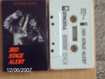 3RD STAGE ALERT CASSETTE 1984 METAL BLADE RECORDS