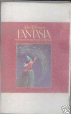 Walt Disney FANTASIA Soundtrack Cassette 1982