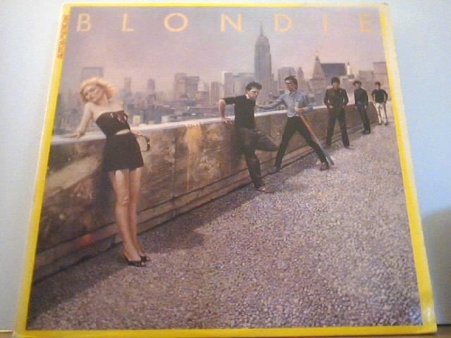Blondie AUTOAMERICAN LP Record 1980