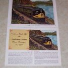 NORTHERN PACIFIC RR NORTH COAST LIMITED TRAIN PHOTO
