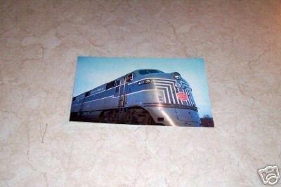 NEW YORK CENTRAL SYSTEM 4007 PASSENGER TRAIN POSTCARD