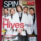 SPIN Magazine August 2004 The Hives Music Magazine