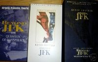 JFK VHS Movie Box Set Kevin Costner Oliver Stone 1993