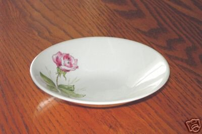 Knowles Tea Rose Pattern Berry Fruit Bowls