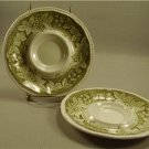 Kensington Somerset 1803 Green Grapes Saucers