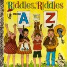 Riddles Riddles From A to Z Little Golden Book 1972