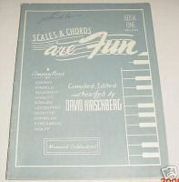 David Hirschberg SCALES & CHORDS ARE FUN 1948