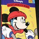 DISNEY MICKEY'S WORLD OF WORDS Volume 6