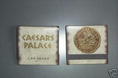 Caesars Palace Las Vegas Matchbook Vintage