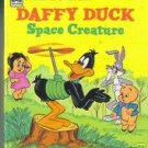 Daffy Duck Space Creatur Golden Tell A Tale Book 1977