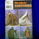 Simplicity 9987 Lord of the Rings Cape Tunic Pattern