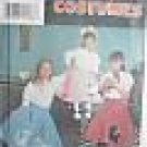 Simplicity 7210 POODLE SKIRT COSTUME Girls  8-14 1996