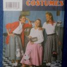 Simplicity 7214 POODLE SKIRT COSTUME Misses  6-10 1996