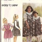 Simplicity Pattern 9327 Jumper Blouse Petticoat Girls 5-8