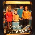 STAR TREK GIFT SET BARBIE & KEN DOLLS 1996 NIB