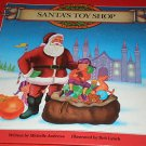SANTA'S TOY SHOP Pop Up Book 1992