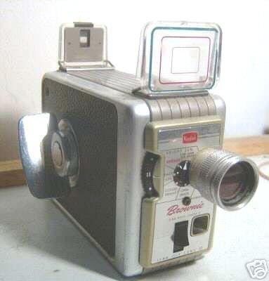 KODAK BROWNIE 8mm MOVIE CAMERA II 1950s