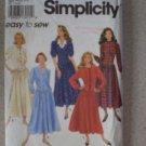Simplicity 8006 Shirt Dress Misses 6-12 1992 Uncut