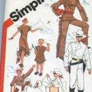 Simplicity 5298 Lone Ranger Tonto Boys Girls 10-12