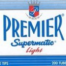PREMIER KS LIGHT CIGARETTE TUBES 10 BOXES