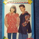 Butterick 811 Hooded Pullover Boy Girl 7-14