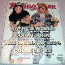 Rolling Stone Magazine 626 March 1992 Wayne's World Cover
