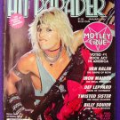 Hit Parader Jan 1985 Motley Crue Van Halen Iron Maiden