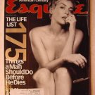Esquire Magazine December 1999 Sharon Stone