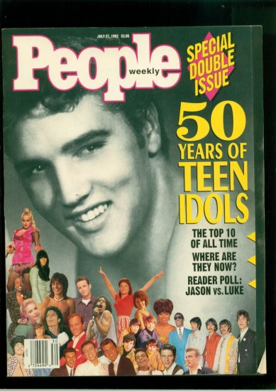Buy people magazine - People Magazine July 1992 50 Years Teen Idols