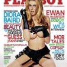 PLAYBOY MAGAZINE  August 2005 DIORA BAIRD