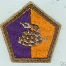 51st Infantry Division US Army WWII RATTLESNAKE Patch