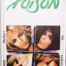Poison Look What The Cat Dragged In Cassette 1986