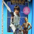 Star Wars Heroes Villains Golden Coloring Book 1997