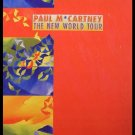 Paul McCARTNEY THE NEW WORLD TOUR PROGRAM 1993