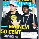 Blender Magazine May 2005 Eminem Fifty Cent