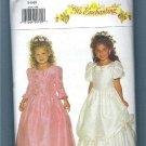 Butterick 3815 Dress Gown Girls 5-6-6x 1994