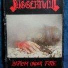 Jaggernaut BAPTISM UNDER FIRE Cassette 1986