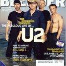 Blender Magazine November 2004 U2 Bono