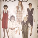 McCall's 9213 Jumper Tie Belt  4 Styles Misses 8 1984
