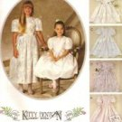 McCall's 6953 Kitty Benton Party Dress Girls 3 1994