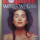 Esquire Magazine August 1991 Women We Love