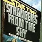 Star Trek Strangers From the Sky Margaret Bonanno 1987 Sci-Fi