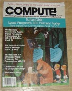 COMPUTE Magazine April 1985 APPLE ATARI COMMODORE