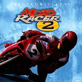 Moto Racer 2 PC Games 1998 BOX INSTRUCTIONS  ONLY