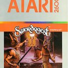 Swordquest Fireworld Atari 2600 1982