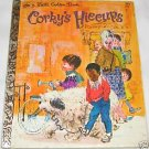 Corky's Hiccups Little Golden Book 1968