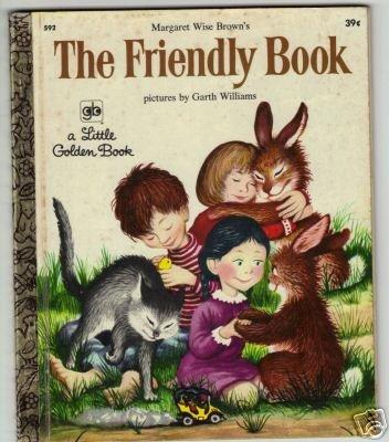 The Friendly Book Little Golden Book 1972