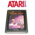 STELLAR TRACK Game Box Atari 1981